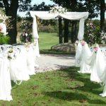 Проведение свадьбы на природе