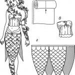 Как изготовить костюм русалки своими руками.