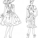 Театрализованный сценарий демонстрации моделей одежды разных магазинов.