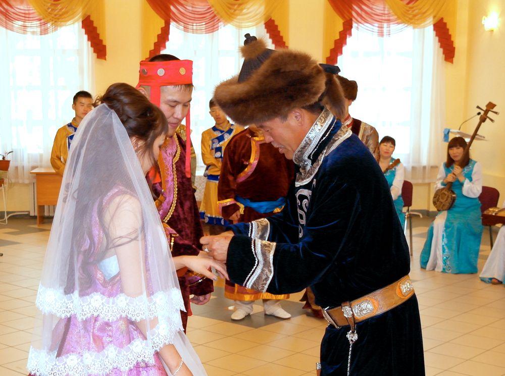 Бурятские свадебные традиции