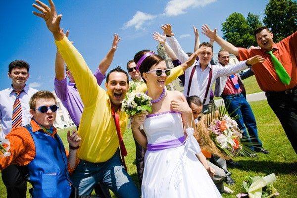 Сценарий свадьбы. День второй