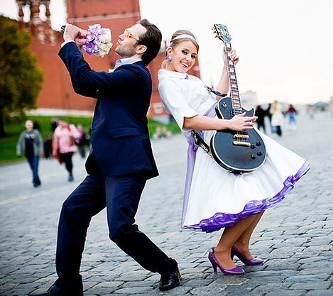 Свадьба в стиле 50-х