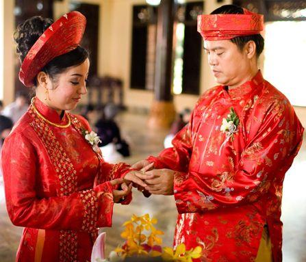 Свадебные церемония во Вьетнаме