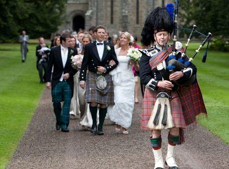 Свадебные традиции Шотландии